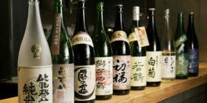саке бутылки