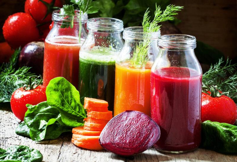 сок овощи