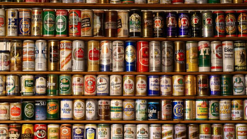 пиво в банках