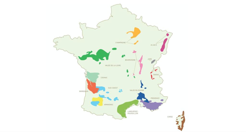 карта виноделия
