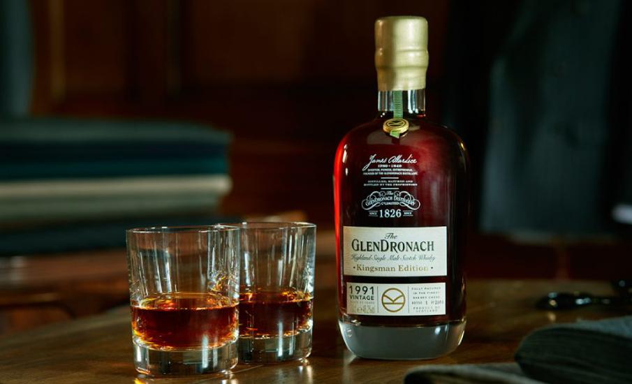 виски glendronach