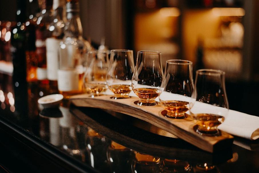 дегустационный набор виски