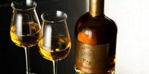 граппа 2 бокала и бутылка