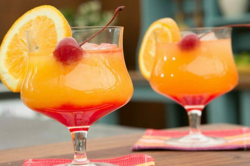 Как приготовить коктейль Текила Санрайз