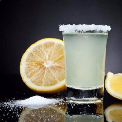 текила соль лимон