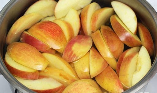 обработка яблок для вина
