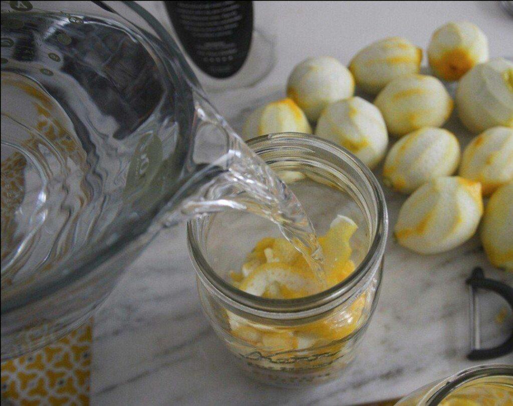 цедра лимона для лимончелло