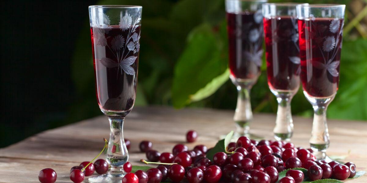 вино из вишни