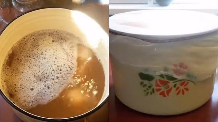 отстаивание яблочного сока для вина