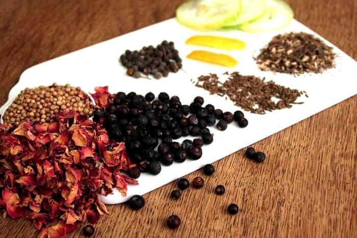 домашний джин ингредиенты
