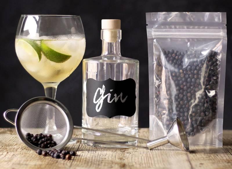 джин в домашних условиях рецепт приготовления напитка