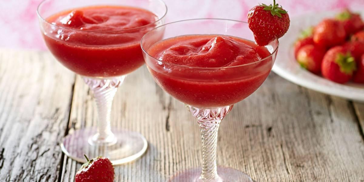 клубничный дайкири рецепт коктейля