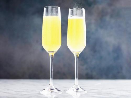 мимоза как приготовить коктейль