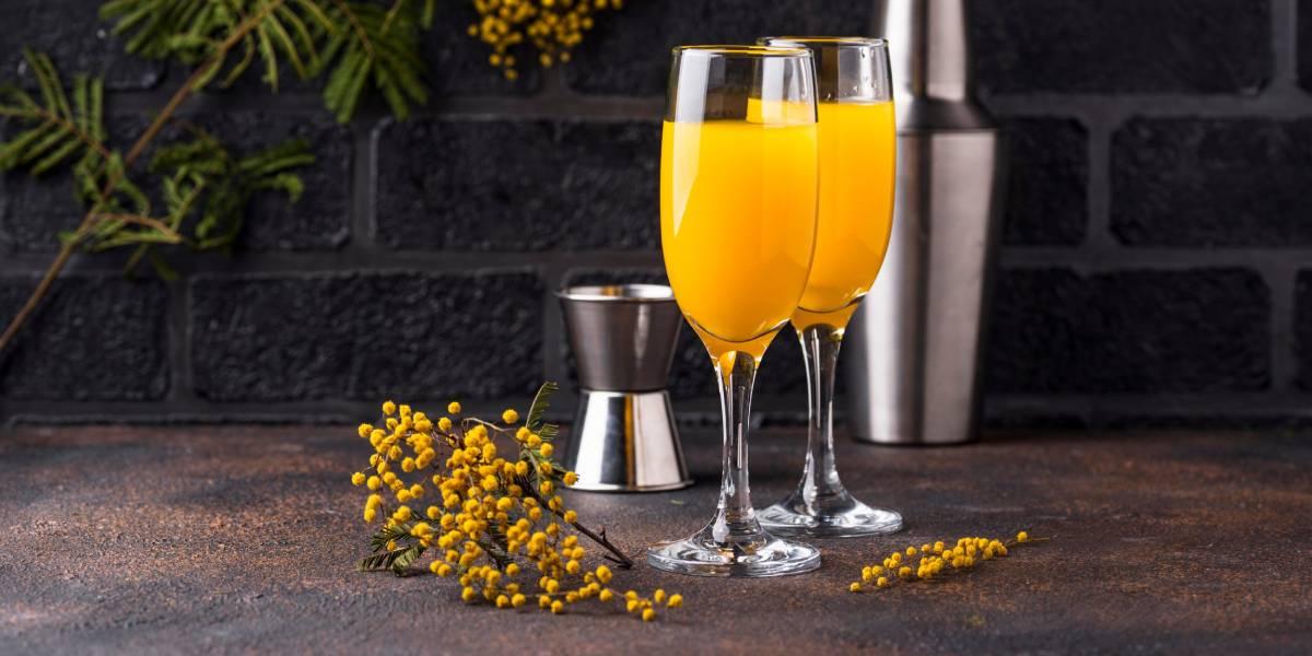 мимоза рецепт коктейля