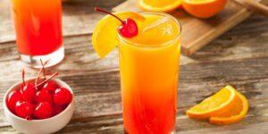 Солнечный Персик –  Сладкий и Крепкий Коктейль с Чачей