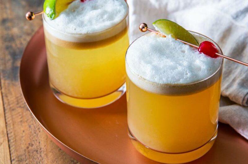 Как приготовить коктейль Виски Сауэр