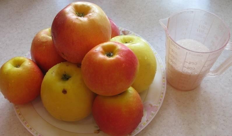 ингредиенты для компота из яблок