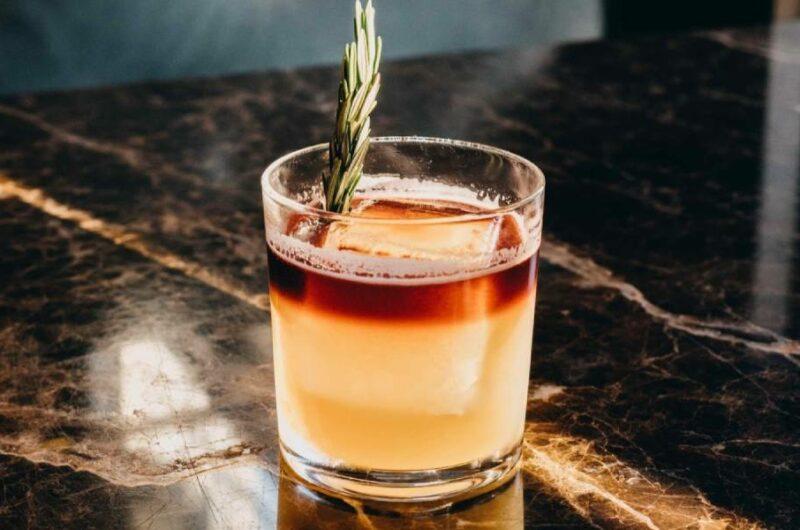 Как приготовить коктейль Нью-Йорк Сауэр