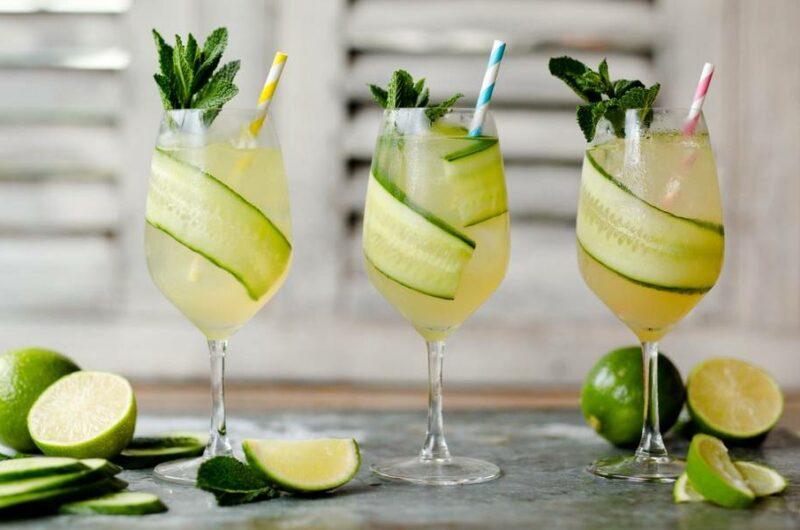 Как приготовить коктейль Джин Гарден