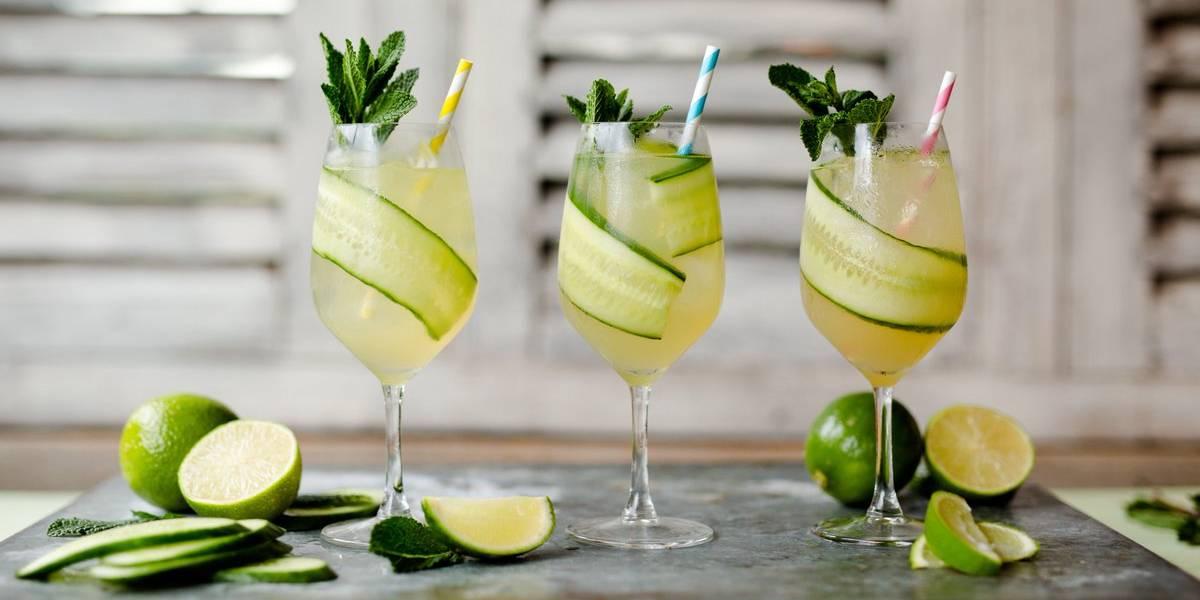 джин гарден рецепт коктейля
