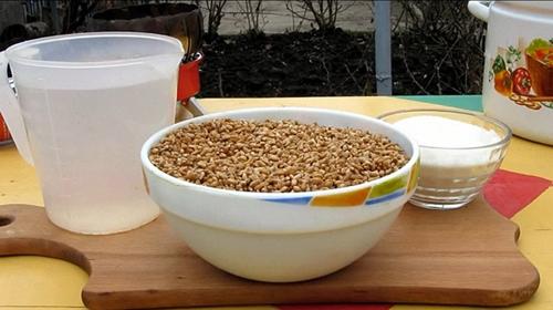 самогон из пшеницы ингредиенты