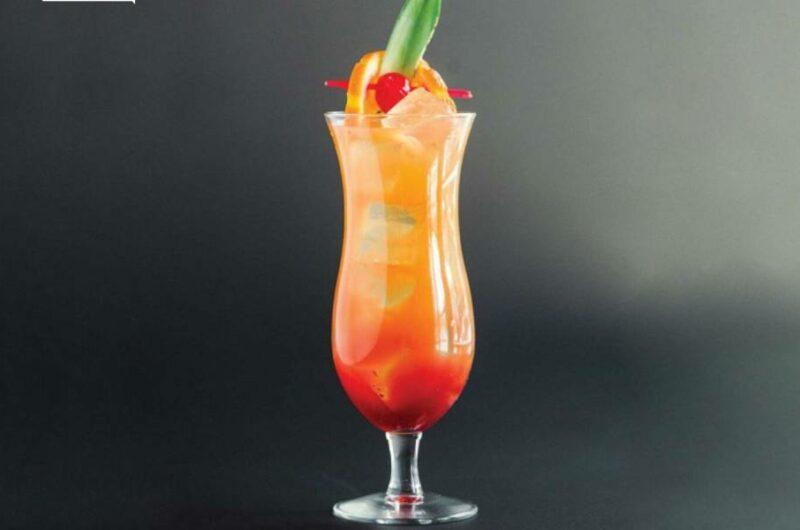 Как приготовить слабоалкогольную версию коктейля Ураган