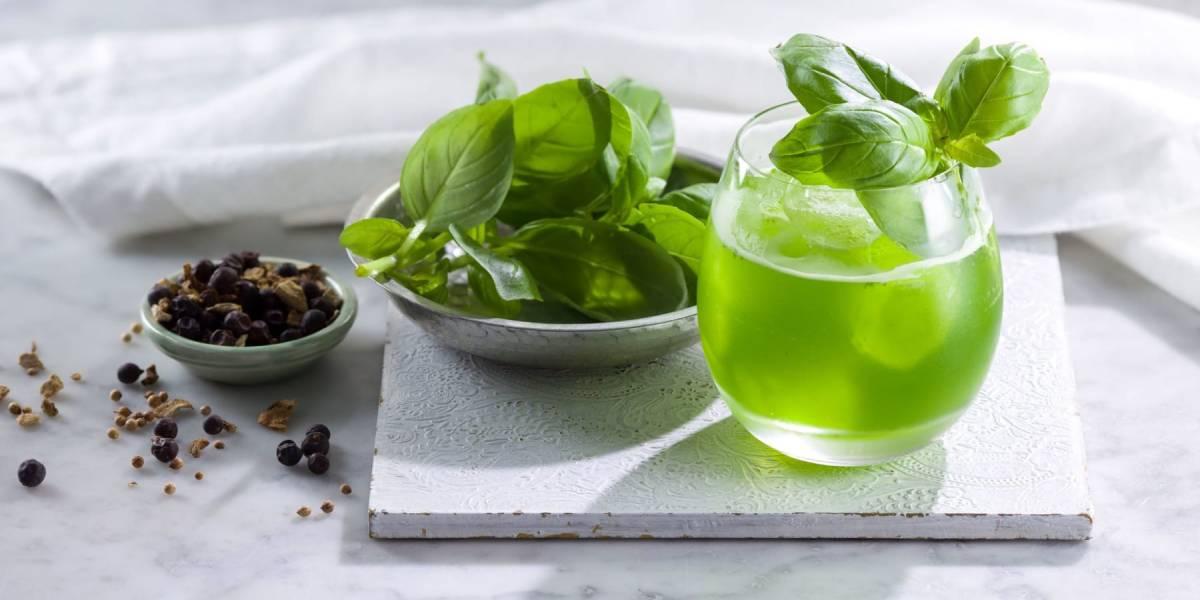 базиликовый джин смэш рецепт коктейля