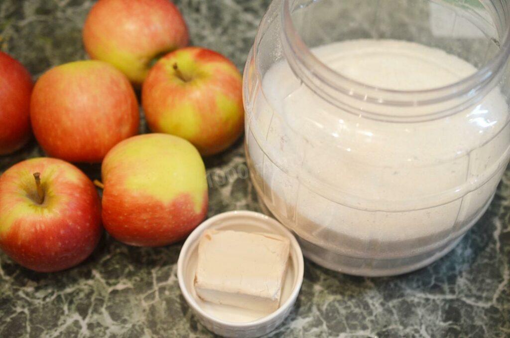 ингредиенты для яблочного самогона
