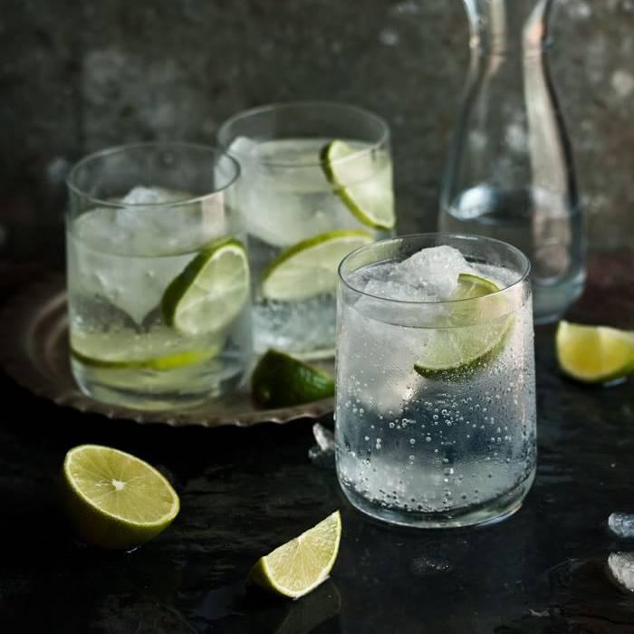как пить джин разбавленным