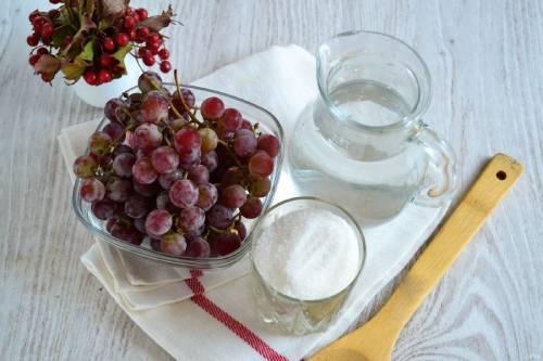 компот из винограда ингредиенты