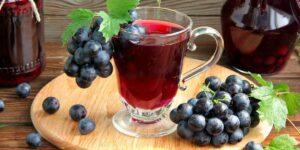 Компот Из Винограда На Зиму И На Сейчас: Самый Простой И Вкусный Рецепт