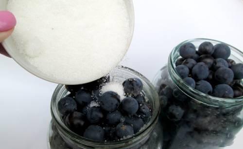 компот из винограда приготовление сиропа вторая заливка