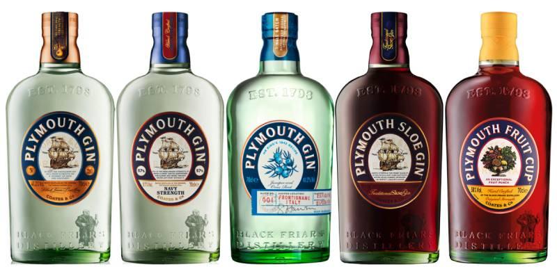 Плимутский джин виды