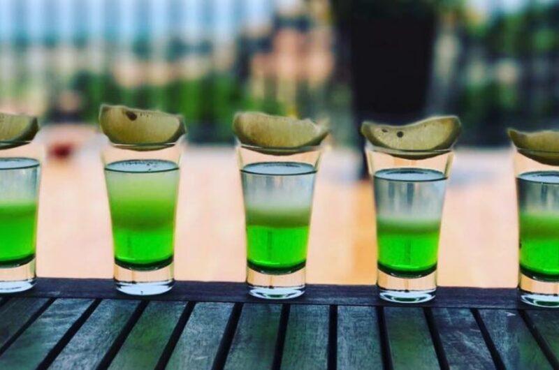 Как приготовить коктейль Тик Так