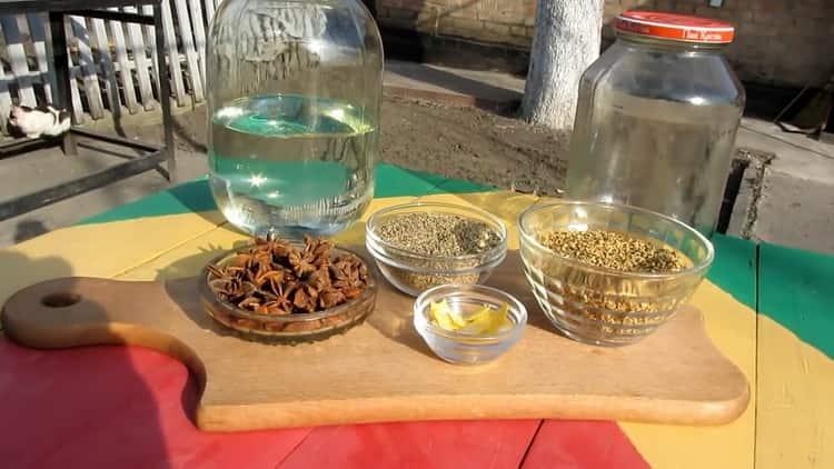 ингредиенты для домашней самбуки