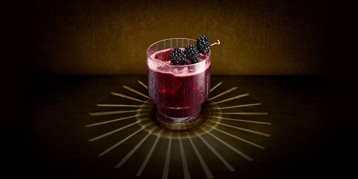 пурпурная звезда рецепт коктейля с егерем