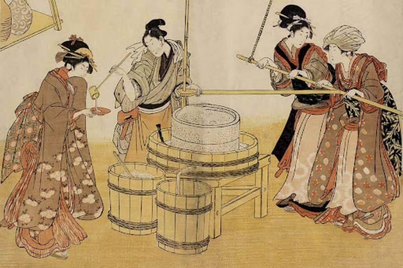 где изобрели саке