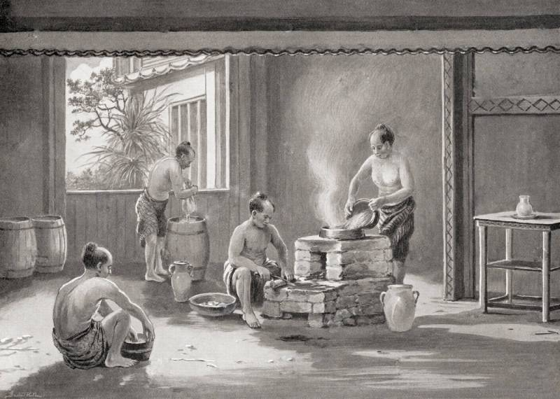 как развивалось производство саке