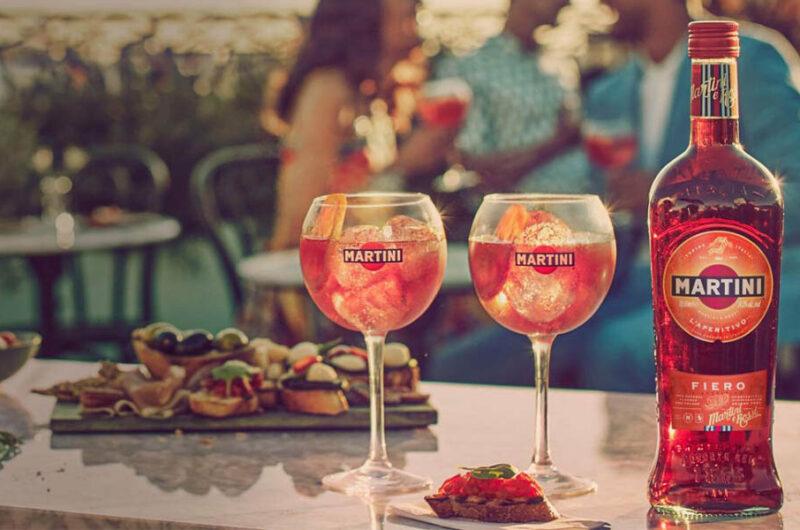 Как приготовить коктейль Мартини Фиеро Тоник