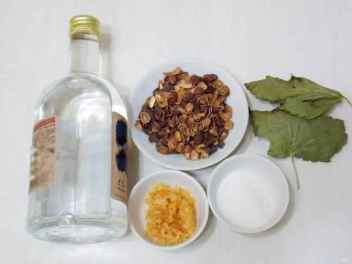 ингредиенты для кедровки