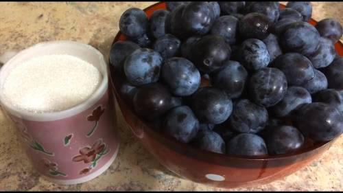 ингредиенты для тернового вина