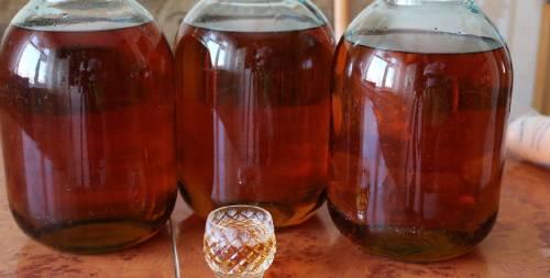 улучшение вкуса и повторное настаивание настойки из перегородок грецких орехов