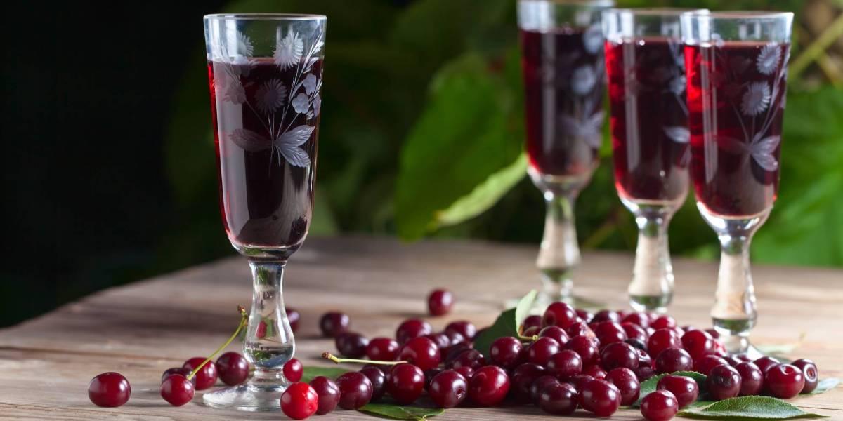 вишневый ликер рецепт в домашних условиях