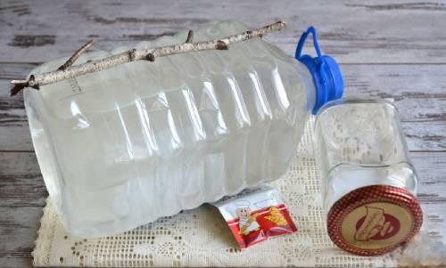 ингредиенты для самогона из березового сока